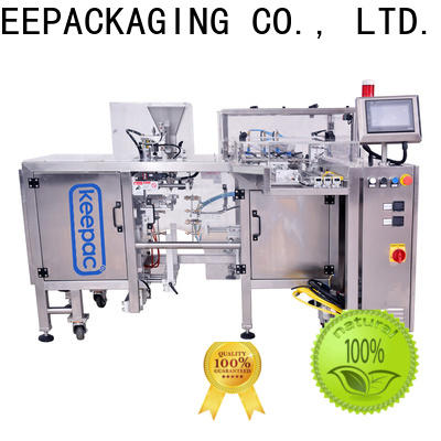 Keepac New snack food packaging machine for business for beverage