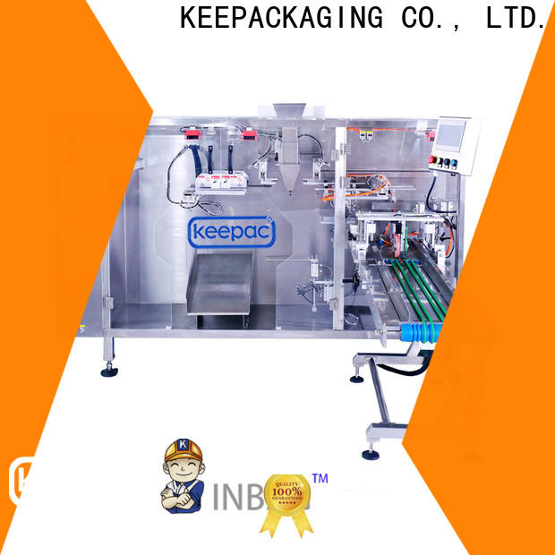 Custom stand up pouch packing machine 8 inches manufacturers for 3 sides sealed pouch