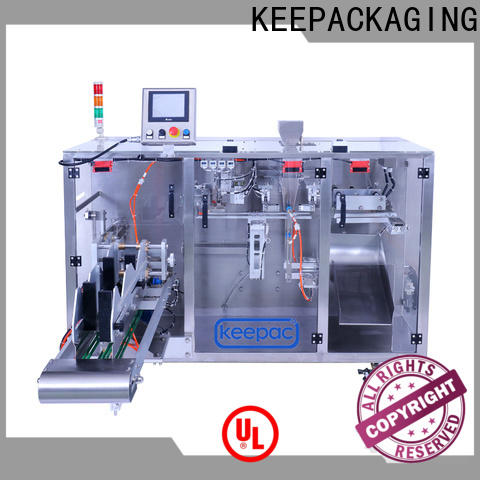Keepac Top powder pouch packing machine Supply for standup pouch