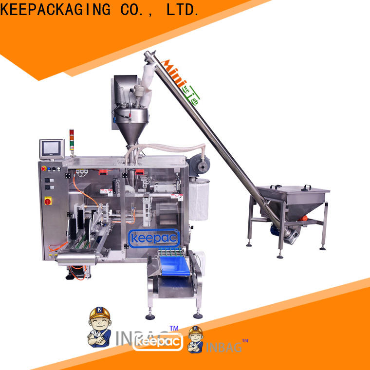 Keepac 8 inches milk powder packing machine manufacturers for food