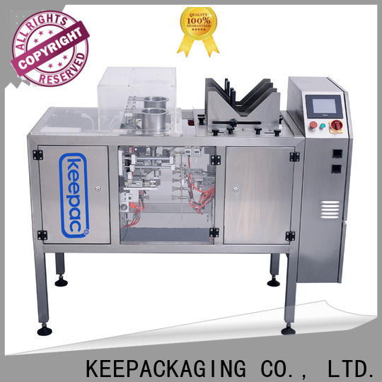 Keepac Custom small food packaging machine for business for pre-openned zipper pouch