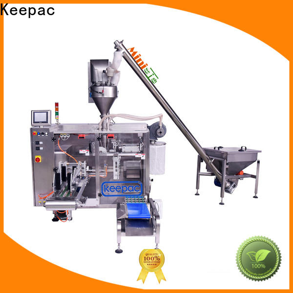 Keepac 8 inches pick fill seal machine Suppliers for standup pouch