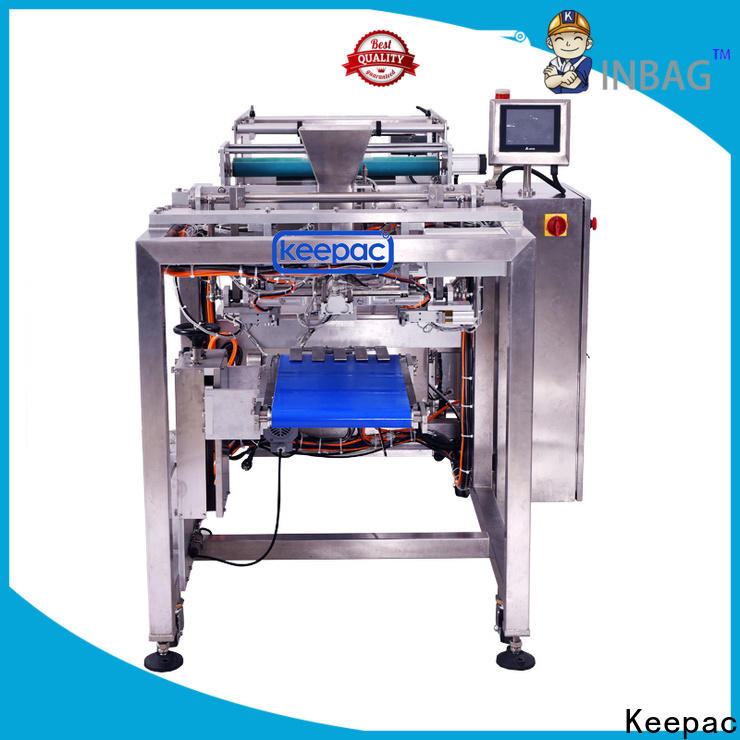 Keepac easy running seal bag machine factory for food