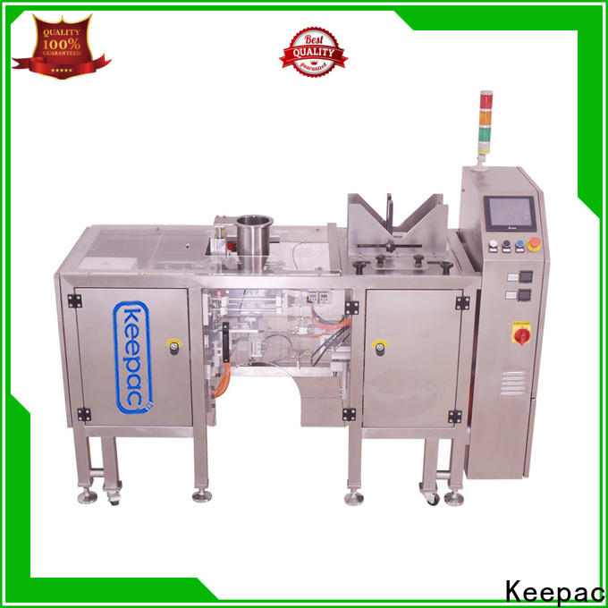 Keepac Wholesale chips packaging machine Suppliers for pre-openned zipper pouch
