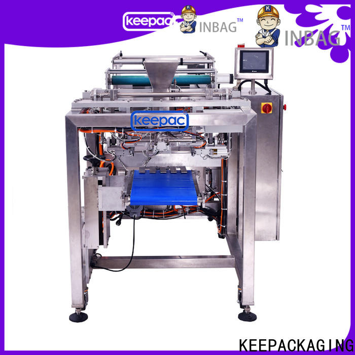 Keepac straight flow design bottle packing machine for business for zipper bag