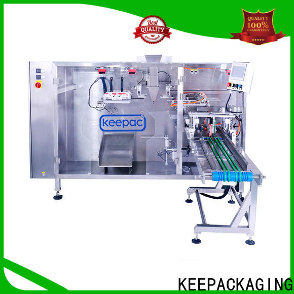 Keepac Custom liquid pouch packing machine Suppliers for 3 sides sealed pouch