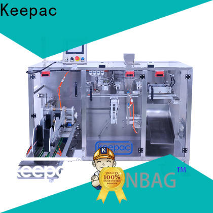 Keepac duplex form fill seal machine Supply for zipper bag