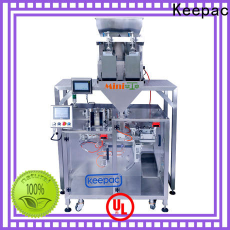 Keepac 8 inches form fill seal machine for business for standup pouch