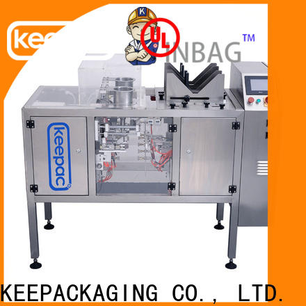Latest food packaging machine mini for business for pre-openned zipper pouch