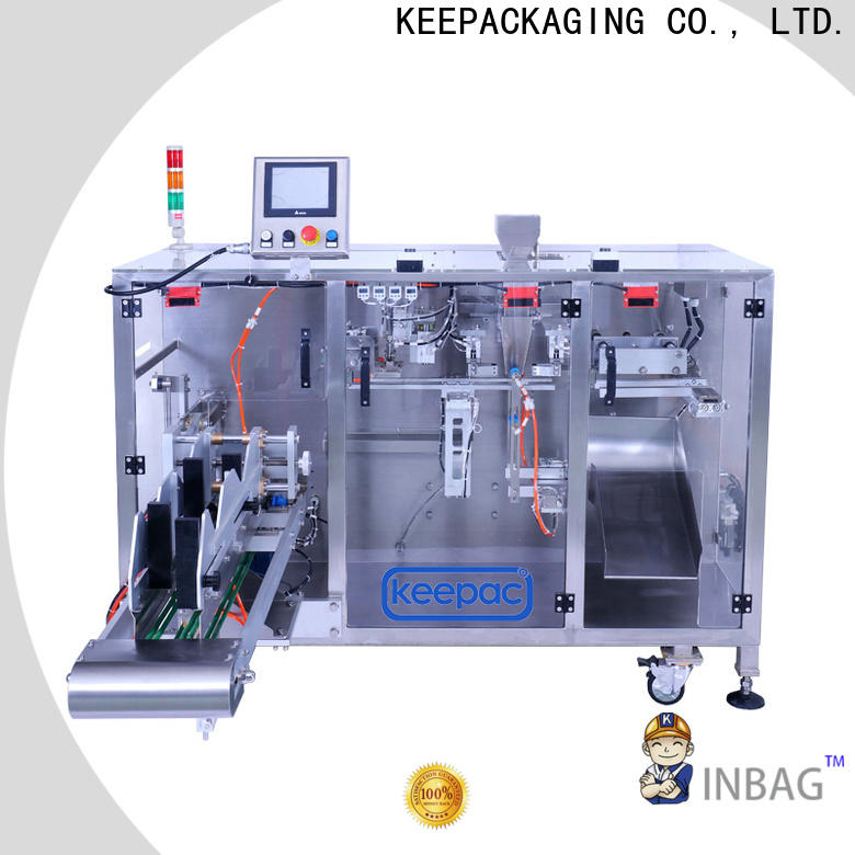 Custom automatic powder packing machine linear Suppliers for zipper bag