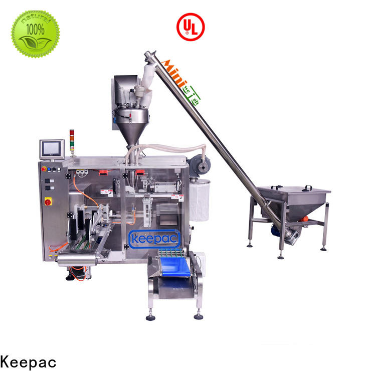 Keepac Top pick fill seal machine for business for food