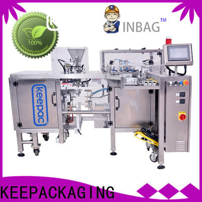 Keepac multi bag format doypack machine company for pre-openned zipper pouch