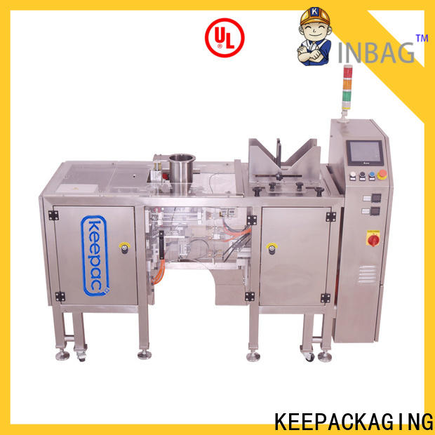 Keepac High-quality snack food packaging machine manufacturers for pre-openned zipper pouch