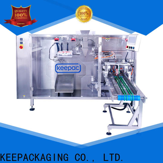 Best small pouch packing machine straight flow design Suppliers for zipper bag