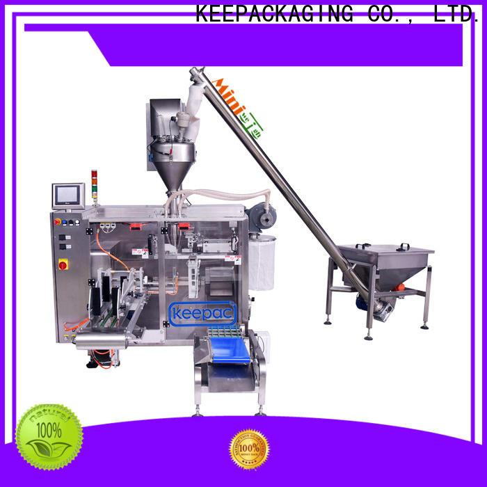Keepac linear form fill seal machine for business for zipper bag