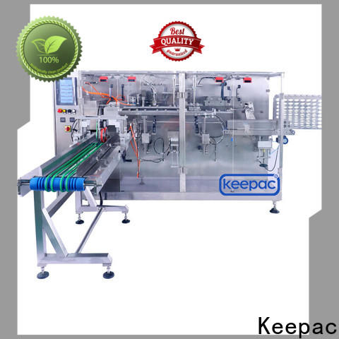 Keepac pouch types of packaging machines factory for food