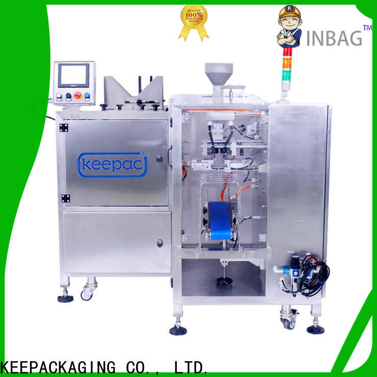 Keepac Best small food packaging machine manufacturers for pre-openned zipper pouch