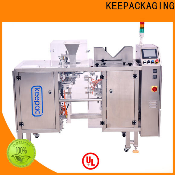Keepac stainless steel 304 small food packaging machine Supply for beverage