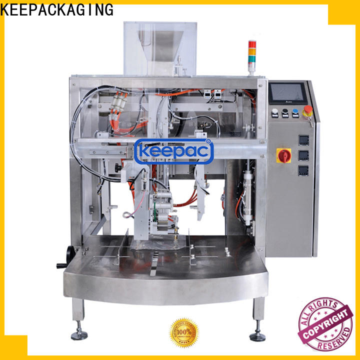 Keepac Top small food packaging machine Supply for pre-openned zipper pouch