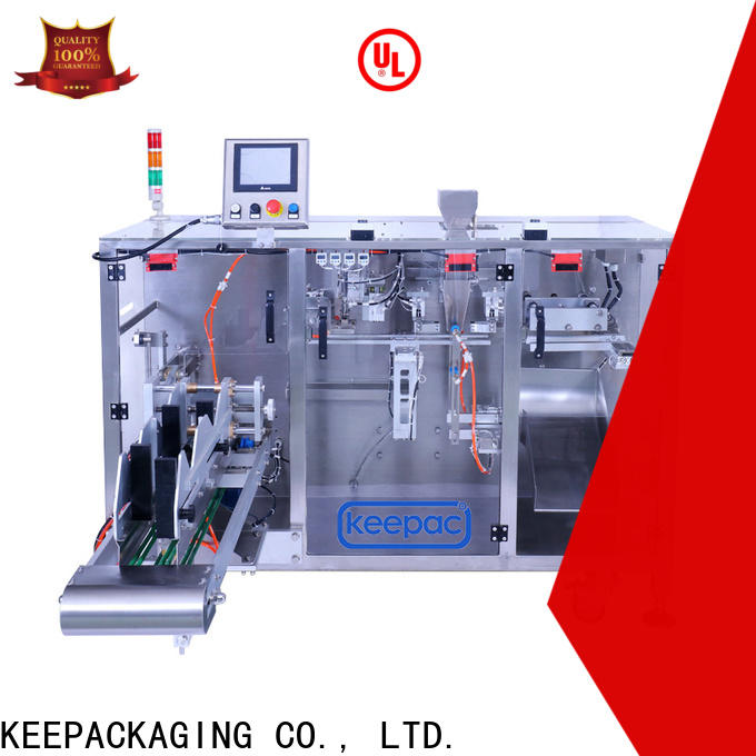 Keepac New form fill seal machine factory for standup pouch
