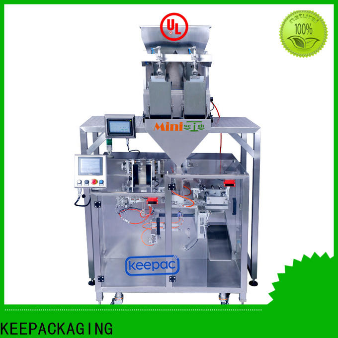 Keepac Wholesale automatic powder packing machine company for standup pouch