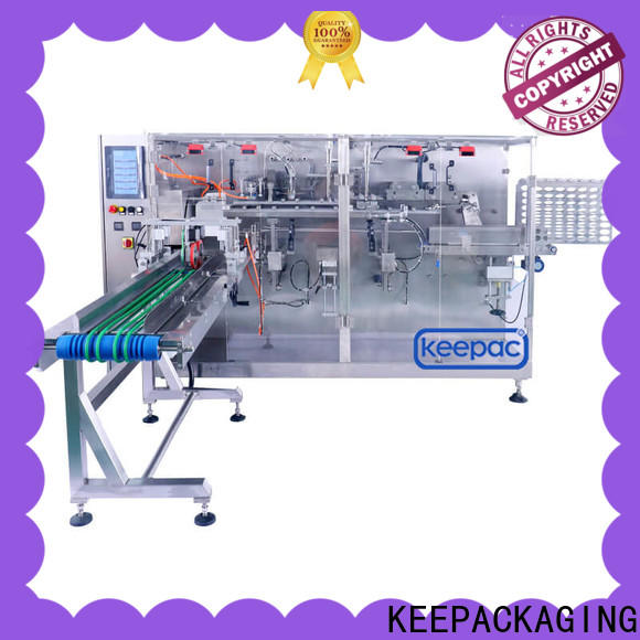 Keepac New types of packaging machines manufacturers for commodity