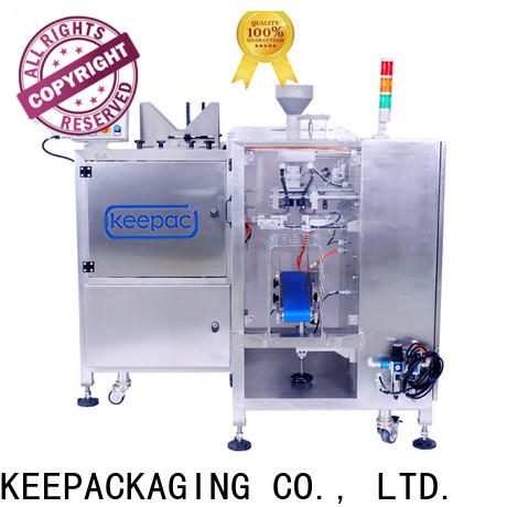 Keepac multi bag format food packaging machine company for pre-openned zipper pouch