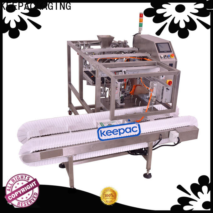 Keepac different sized grain packing machine company for pre-openned zipper pouch