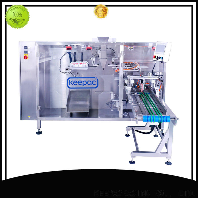Keepac Top milk pouch packing machine Suppliers for 3 sides sealed pouch