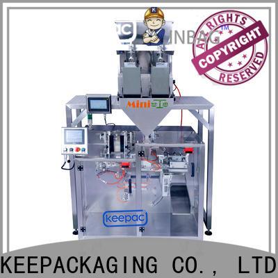 Keepac Custom milk powder packing machine manufacturers for standup pouch