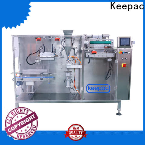 Keepac filler horizontal packaging machine company for food