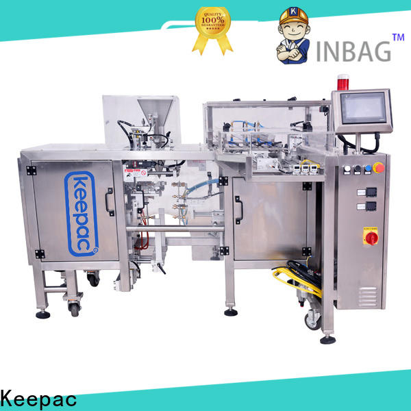 Keepac quick release mini doypack machine manufacturers for food