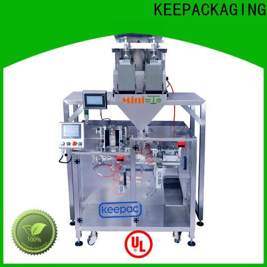 Keepac linear powder pouch packing machine manufacturers for zipper bag