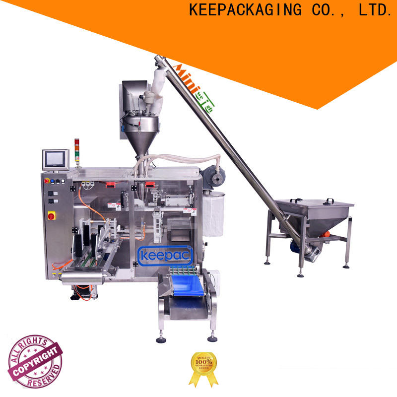 Keepac Latest horizontal form fill seal machine Supply for zipper bag
