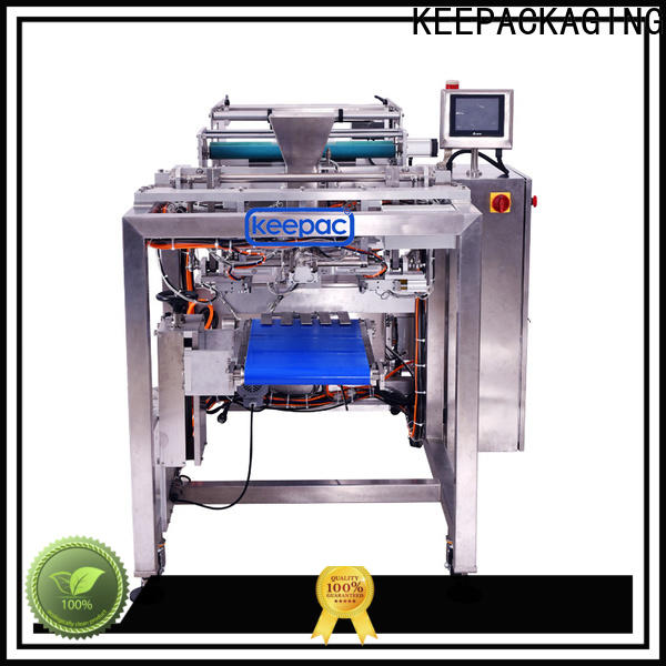 Keepac New bag filling and sealing machine manufacturers for standup pouch