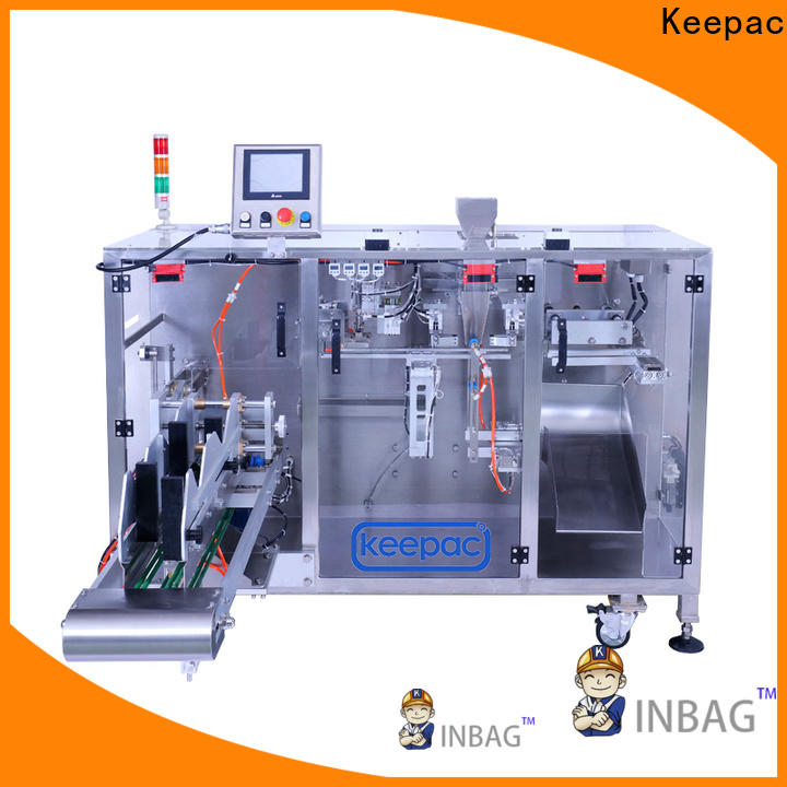 Latest powder pouch packing machine staight flow design manufacturers for food