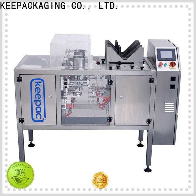 Keepac multi bag format small food packaging machine company for beverage