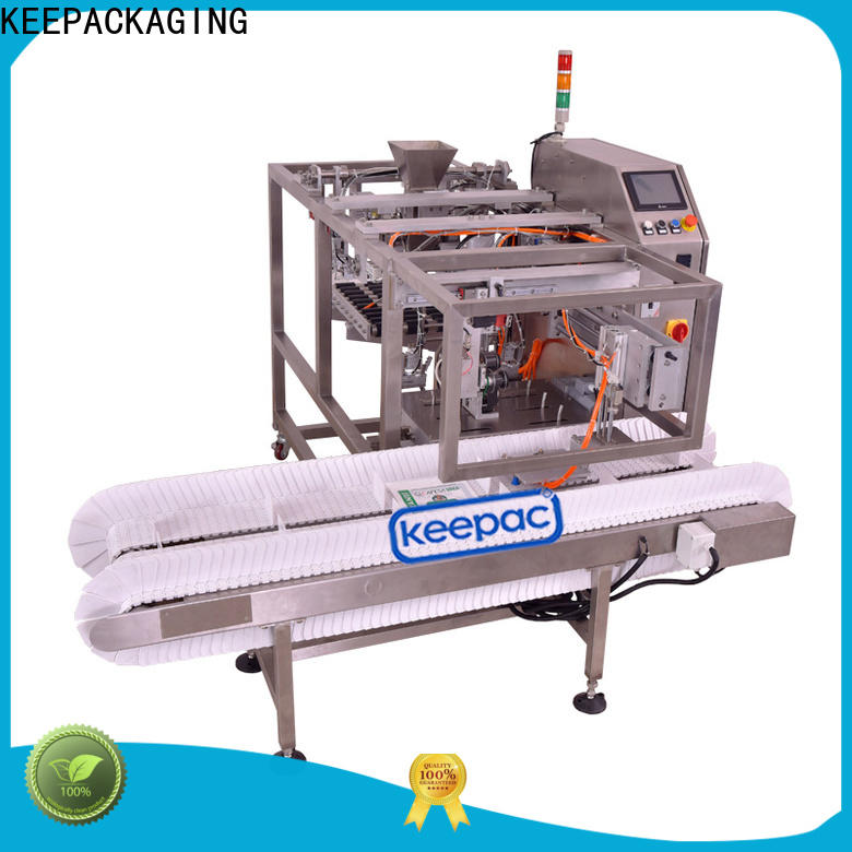 Top automatic grain packing machine multi bag format Supply for pre-openned zipper pouch