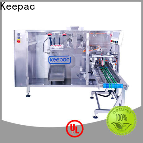 Keepac quick release pouch packing machine factory for zipper bag
