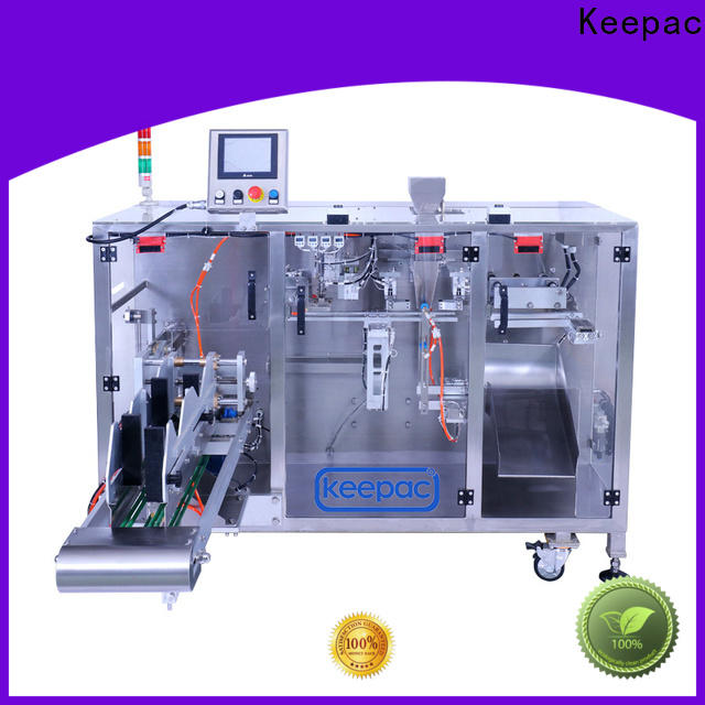 Keepac linear milk powder packing machine factory for standup pouch