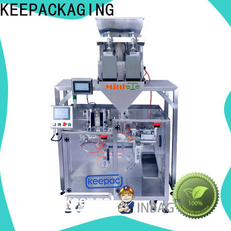 Keepac Wholesale horizontal form fill seal machine Suppliers for zipper bag
