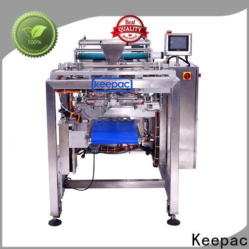 Keepac Top pillow bag packaging machine factory for zipper bag