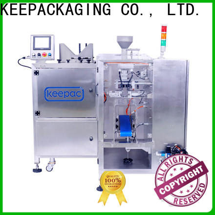 Keepac stainless steel 304 food packaging machine for business for beverage