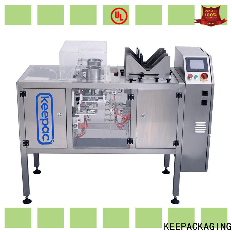 Custom food packaging machine mini Suppliers for pre-openned zipper pouch