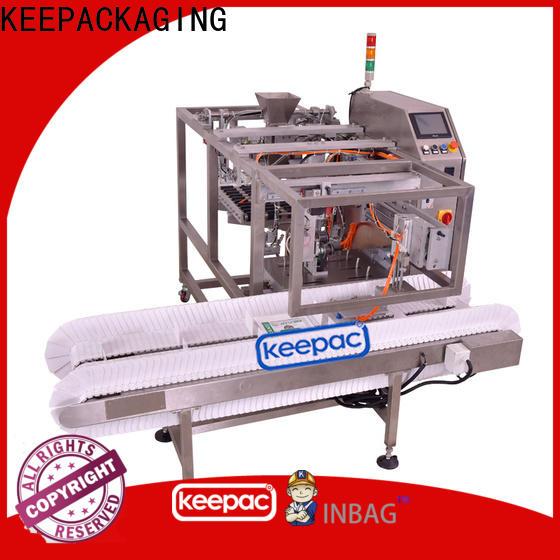 Top snack food packaging machine multi bag format Suppliers for food