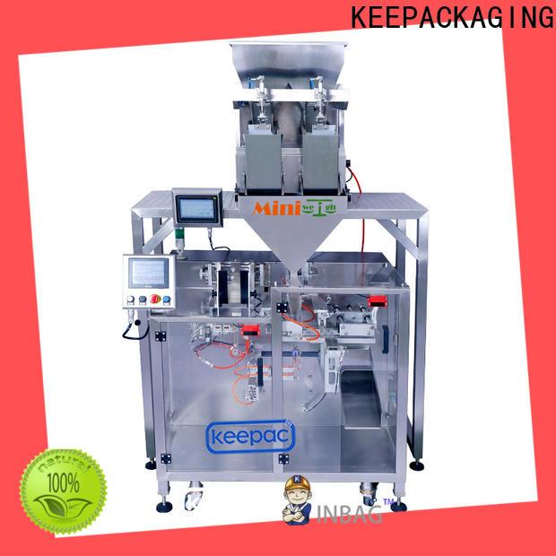 Keepac linear pick fill seal machine company for zipper bag