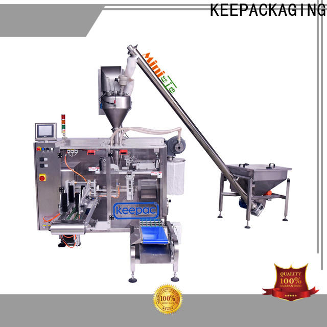 Keepac linear horizontal form fill seal machine factory for food