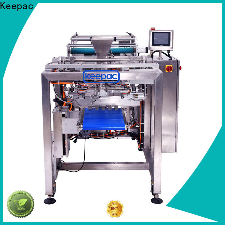 Keepac Best form and fill machine factory for standup pouch
