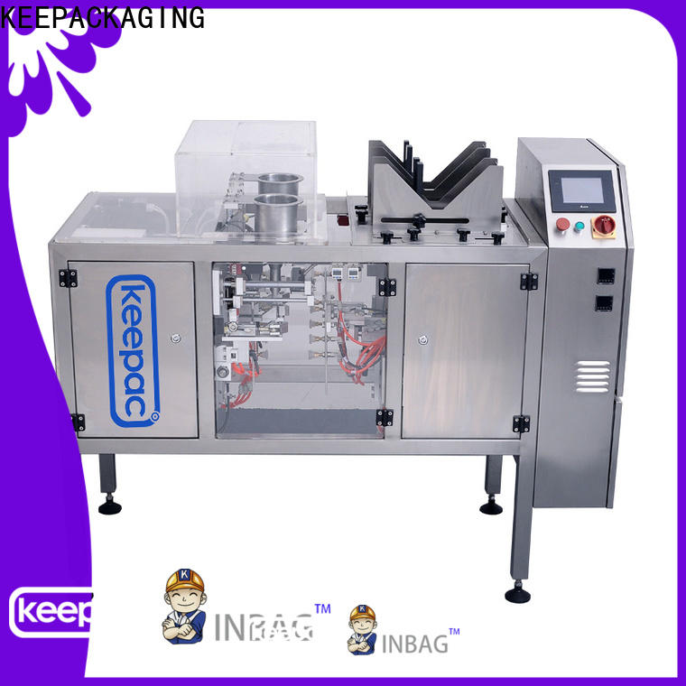 Keepac Top chips packaging machine factory for pre-openned zipper pouch