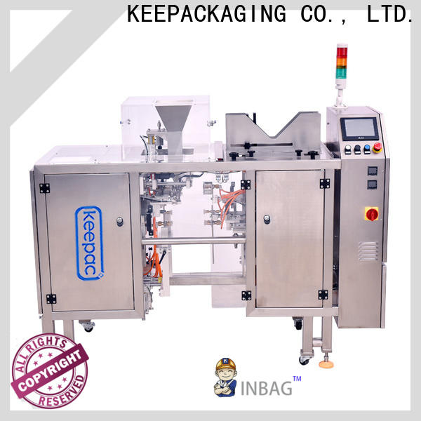 New chips packaging machine different sized for business for pre-openned zipper pouch